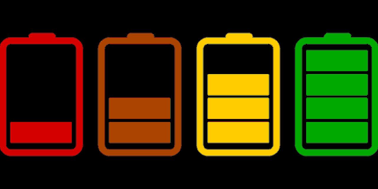 バッテリーが減る画像
