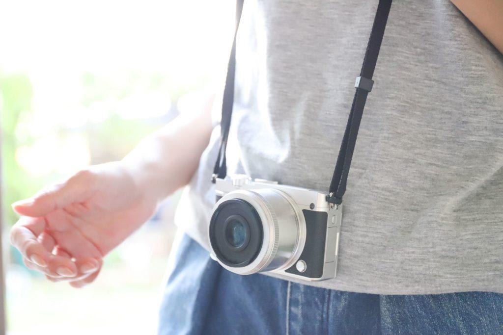 ミラーレスカメラを愛用している人画像