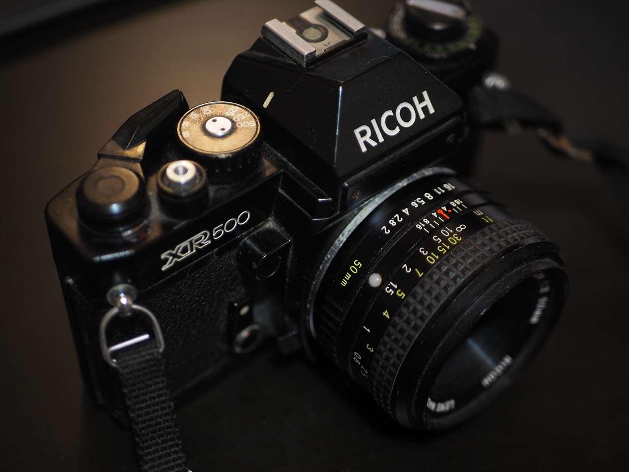 昔のカメラの画像